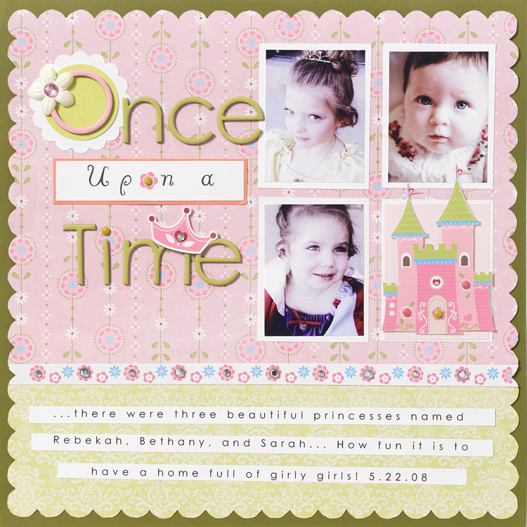 FOTA Once Upon a Time Layout