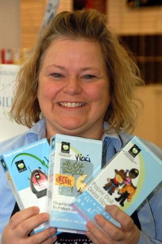 Some of Vicki's favorite Cricut Cartridges