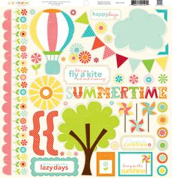 SS1014 Sweet Summertime Element Stickers
