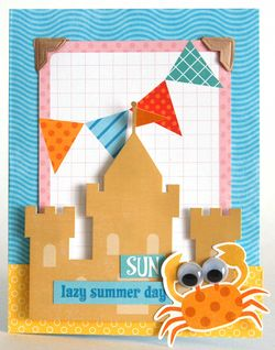 Sandcastle-Card