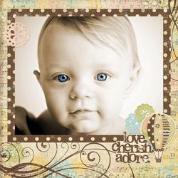 Baby Steps_12x12 Sample
