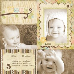 Baby Steps_6x8 Sample