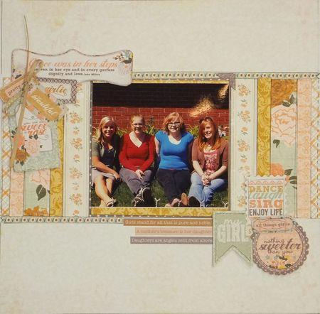 Vicki - Sisters layout