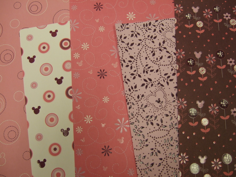 New_disney_pink_brown_papers
